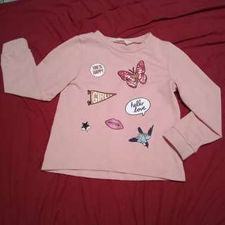 H&M Long sleeve Pink