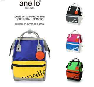 [Re-Stock] Japan Anello Polyester Canvas Backpack~ Original 100% Authentic ☆Small (Mini) AT-B2791