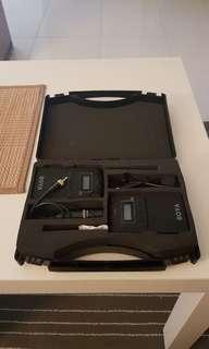 BOYA BY-WM6 UHF wireless mic system
