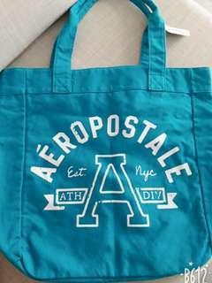 AEROPOSTALE藍帆布休閒包