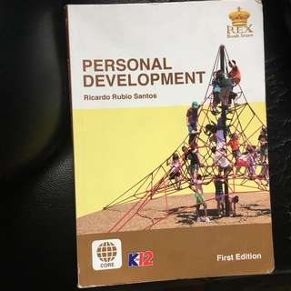 Personal development SHS BOOK