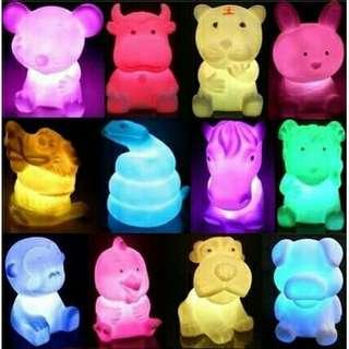 Lampu imut berubah 7 warna