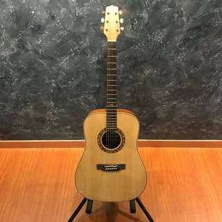 🚚 Takamine F370 Solid Spruce Dreadnaught Koa Acoustic Guitar