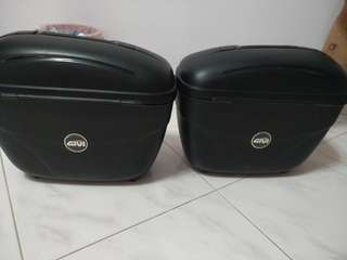 storage box for motorcycle (Givi)
