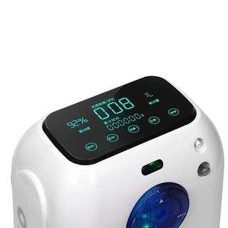 巨仁家用制氧機氧氣機吸氧機帶霧化老人巨人孕婦吸氧器小型DZ-2B