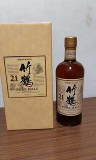 竹鶴21 nikka whisky