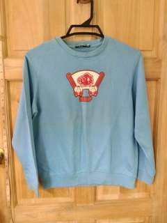 Sheep babyblue sweater