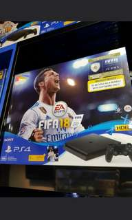 PS4 Slim with FIfa 18 trade in deal