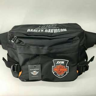 Sling bag tas selempang cowok kekinian model Harley Davidson kualitas ori premium Wisconsin