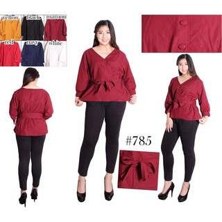 Lana blouse NAVY