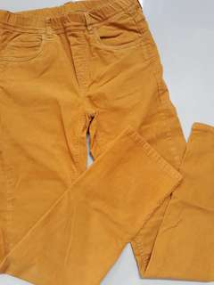 Uniqlo Kids Mustard Pants