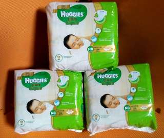 Huggies Ultra Diaper Newborn 24's