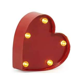 FOR RENT: Heart Marquee Light