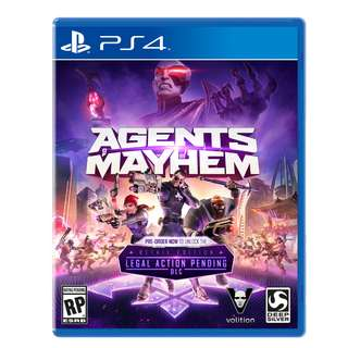 Ps4 Agents Of Mayhem Retail ED R3 ( Clearance )