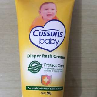 Cussons Diaper Rash Cream