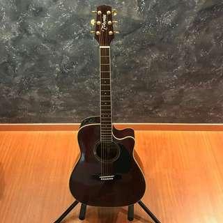 🚚 Takamine EG-334RC Burgundy Acoustic Guitar
