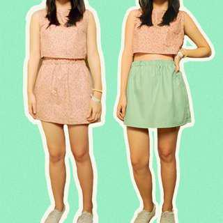 Willow Terno Set (Top and Skirt)