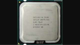 Processor Core 2 Duo E 8400 Intel