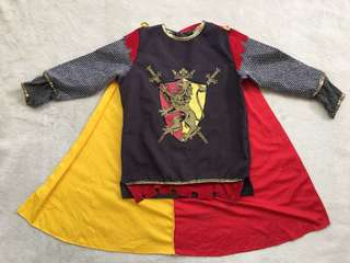 Knight or Prince or King Costume for boys (3-4yo)