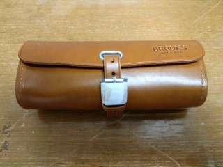 Brooks leather bag
