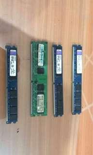 RAM DDR 2. - 1 GB
