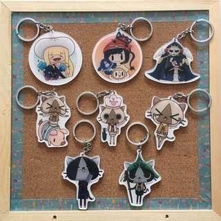 🚚 Keychain (Pokemon, Overlord, Monster Hunter)