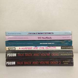 1000php+ worth of Pop Fiction and PSICOM books (book bundle)