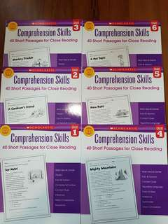Scholastic Comprehension Skills