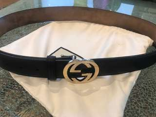 Authentic Gucci interlocking G belt size 100