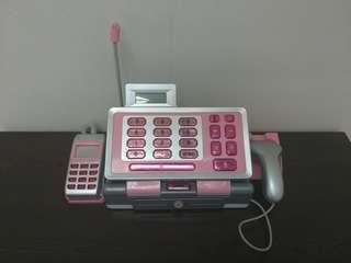100%work 粉紅色 模仿 超級市場 收銀機