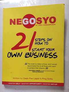 Go Negosyo Book (21 Steps on How to start your Own Business)