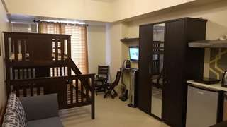 Studio type condo for rent @ avida rial tower 1 ( semi furnished)