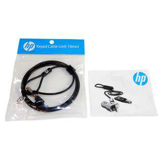 HP Keyed Cable Lock 10mm New T1A62AA New In Box #august75