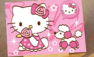 Hello kitty craft paint by number