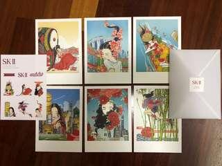 SKII Postcards