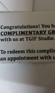 Two $50 group exercise session vouchers for TGIF Studio
