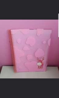 🔥Bought $6.90🔥A4 Giraffe Line Spiral Notebook
