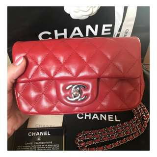 Authentic Chanel Extra Mini Flap Bag
