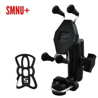 SMNU X grip motorcycle phone holder