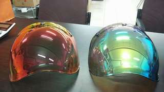 bubble visor colour