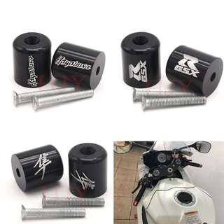 Suzuki GSXR1000 GSXR600 GSXR750 600 750 1000 GSXR balancers bar ends handle grips handle bar engraved words logo japanese letters
