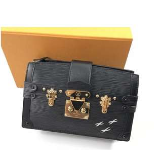 Authentic Louis Vuitton Epi Trunk Clutch