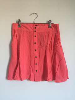 Glassons Pink Skater Skirt