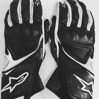 Original ALPINE STARS Motorbike Gloves! For Woman!
