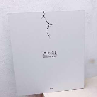BTS 防彈少年團 Concept Book 全新 (冇小卡)