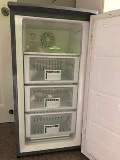 🚚 Techno 115L Frost Free Upright Freezer TFF118