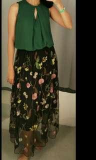 H&M Flower skirt ❤
