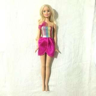 Barbie Doll in Hairtastic Dress