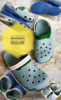 AUTHENTIC CROCS ADULT PRELOVED M8W10