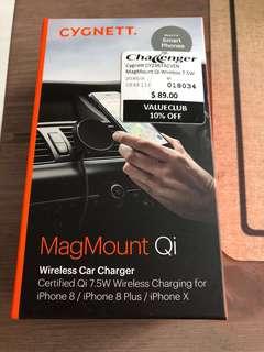 Cygnett Wireless car charger